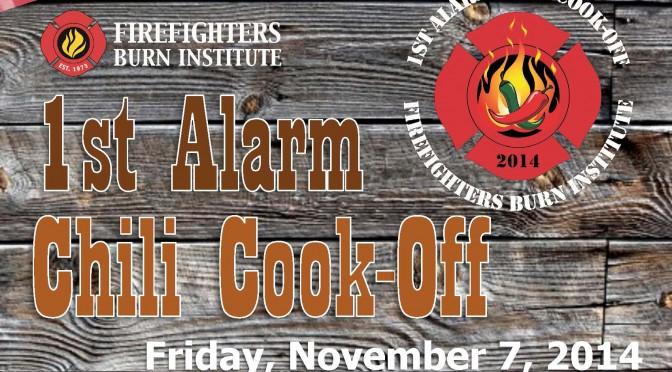 FFBI First Alarm Chili Cook-Off 2014