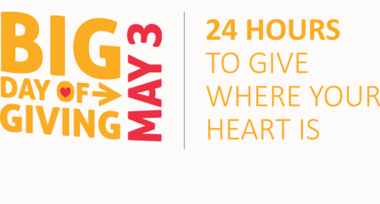Big Day of Giving 2016: May 3rd + 4th!