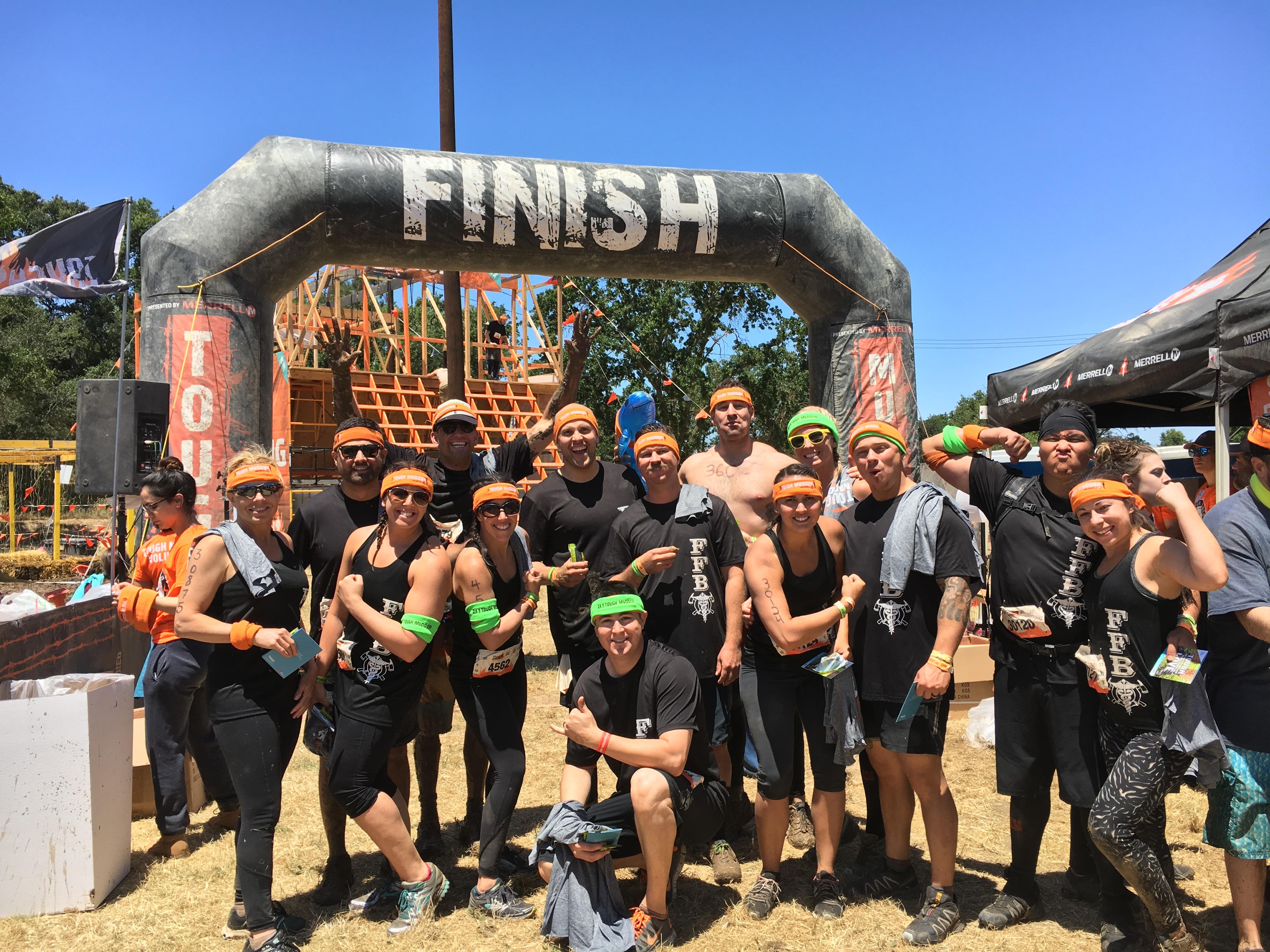 Tough Mudder Lake Tahoe: Team FFBI